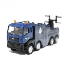 1:64 Man Tow Truck Polis Police Diraja Malaysia Pdrm 129 Diecast Truck (Blue )