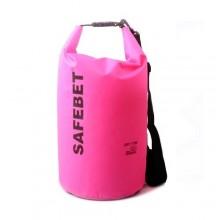 Safebet Waterproof Shoulder dry bag pouch 10L (Pink)