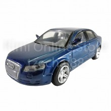 Newray Die-cast Audi A4 Saloon Car 1:43 Blue Color Model Collection New