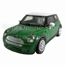 Newray Die-cast Mini Cooper Car 1:43 Green Color Model Collection Gift New Toys