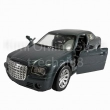 Newray Die-cast Chrysler 300C Car 1:34 Grey Color Model Collection Gift New Toys