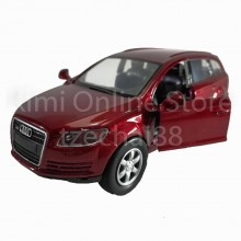 Newray Die-cast Audi Q7 (2006) Car 1:32 Red Color Model Collection Gift New
