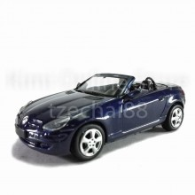 Newray Die-cast Mercedes Benz SLK 350 1:43 Dark Blue Color Model Collection New