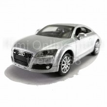 Newray Die-cast Audi TT 1:43 Silver Color Model Collection New Gift Christmas