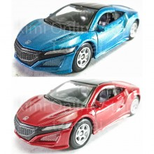 Welly 1:60 Die-cast 2015 Honda NSX Car 2 Color Model Collection New Gift