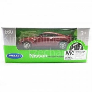 Welly 1:60 Die-cast Nissan GT-R R35 Car 2 Color Model Collection New Gift