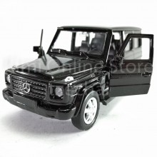Welly 1:34-1:39 Die-cast Mercedes-Benz G-Class Car Black Color Model Collection