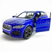 Welly 1:34-1:39 Die-cast Jaguar F-Pace Car Blue Color Model Collection New Gift