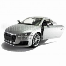 Welly 1:34-1:39 Die-cast 2014 Audi TT Coupe Car Silver Color Model Collection