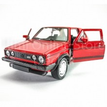 Welly 1:34-1:39 Die-cast Volkswagen Golf I GTI Car Red Color Model Collection