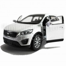 Welly 1:34-1:39 Die-cast KIA Sorento Car White Color Model Collection New Gift