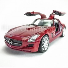 Welly 1:34-1:39 Die-cast Mercedes-Benz SLS AMG Car Red Color Model Collection