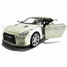 Welly 1:34-1:39 Die-cast Nissan GT-R R35 Car White Color Model Collection