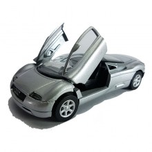 Newray Die-cast Audi Avus Quattro Silver Color 1:32 Model Collection New Gift