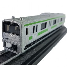 Die-cast Railpass Railway City Train 6 Inch White Green Color Model Collection