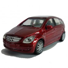 Newray Die-cast Mercedes-Benz B-Class 1:43 Red Color Model Collection Christmas