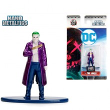 JADA 1.65'' Nano Metalfig The Joker DC Comic Suicide Squad Action Diecast Figure