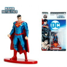 JADA 1.65'' Nano Metalfig DC Comic Superman Action diecast figure metal Original