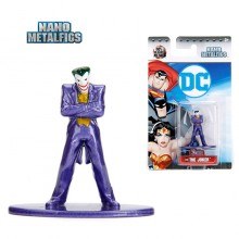 JADA 1.65' Nano Metalfig DC Comic The Joker Batman Animated Series Action Figure