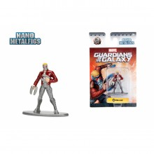 JADA 1.65'' Nano Metalfig Star-Lord Marvel Guardians of the Galaxy Action Figure