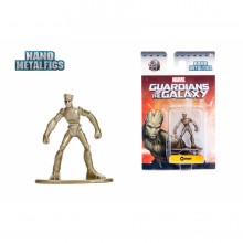 JADA 1.65'' Nano Metalfig Groot Marvel Guardians of the Galaxy Action Figure