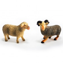 National Geographic Farm Life Animal Sheep Ram Set Toy Genuine Authentic Gift