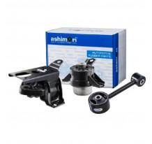 Ashimori Auto Rubber Engine Mount Set for Perodua Myvi (Manual) Mounting Motor