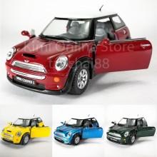 Kinsmart 1:28 Die-cast Mini Cooper S Car Metal Model Collection New Gift