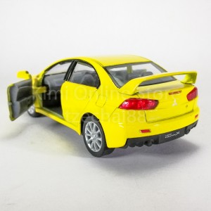 Kinsmart 1:36 Die-cast 2008 Mitsubishi Lancer Evolution X Car Model Collection