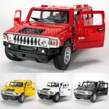 Kinsmart 1:40 Die-cast 2008 Hummer H2 SUV Car Metal Model Collection New Gift