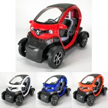Kinsfun 1:18 Die-cast Renault Twizy Car Metal Model Collection New Gift