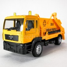 DSM 1:64 Die-Cast MAN Delivery Dump Truck Orange Color Model Collection New