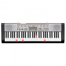 61 Key Casio LK-130 Electronic Keyboard Piano Organ Lighting System Transpose