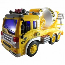 Cement Mixer Truck Educational Toys Sound & Light 10 inch The Nine Product FW603