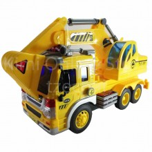 Excavator Truck Educational Toys Sound & Light 10 inch The Nine Product FW604