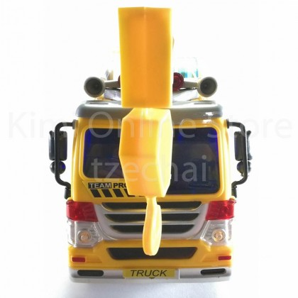 Crane Truck Educational Toys Sound & Light 12.5 inch The Nine Product New FW605