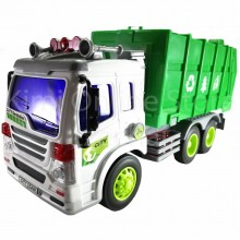 Garbage Truck Educational Toys Sound & Light 10.5 inch The Nine Product FW606