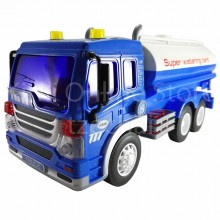Water Tanker Truck Educational Toys Sound & Light 12 inch The Nine Product FW609