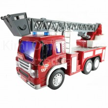 Fire Ladder Truck Educational Toys Sound & Light 12 inch The Nine Product FW613