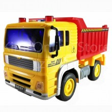 Dump Truck Educational Toys Sound & Light 7 inch The Nine Product FW701 New Gift