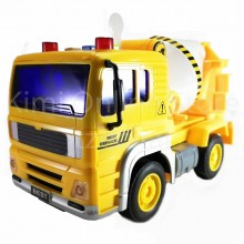 Cement Mixer Truck Educational Toys Sound & Light 8 inch The Nine Product FW702