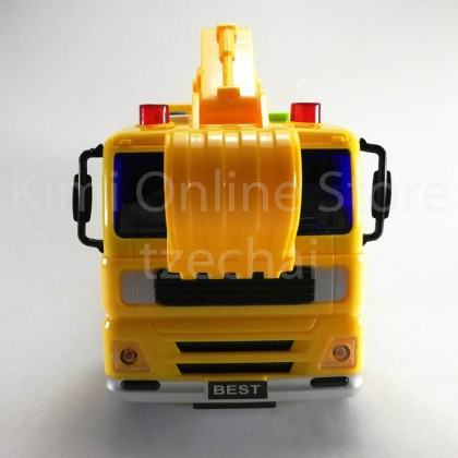 Excavator Truck Educational Toys Sound & Light 7.5 inch The Nine Product FW703