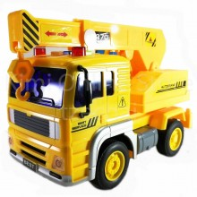 Crane Truck Educational Toys Sound & Light 7 inch The Nine Product FW704 Gift