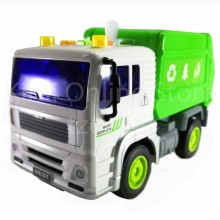 Garbage Truck Educational Toys Sound & Light 7.5 inch The Nine Product FW705