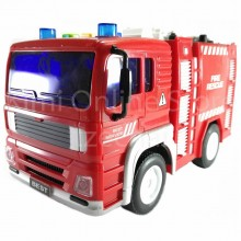 Fire Rescue Truck Educational Toys Sound & Light 7 inch The Nine Product FW711