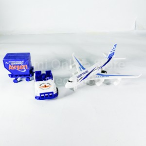 Airport Toys Plane Play Set Die-cast Plastic 1:72 Airfield Aeroplane Gift