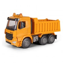 Dump Truck Toys 14.5 inch Multifunction Sound & Light Orange Color Model