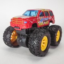 Bigfoot Off-Road Monster Truck 3.5 inch Diecast Red Color Model Collection