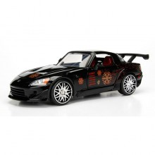 Jada 1:24 Fast & Furious Die-Cast Johnny's Honda S2000 Car Model Collection