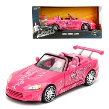 Jada 1:24 Fast & Furious Die-Cast Suki's Honda S2000 Car Model Collection
